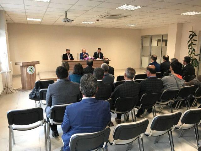 Burhaniye'de 'Sporda Yetenek 10'la Gelecek, Onlarla Gelecek' Koordinasyon Toplantısı