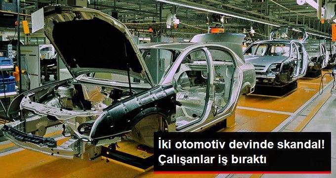 Audi ve BMW İşçileri İş Bırakıyor