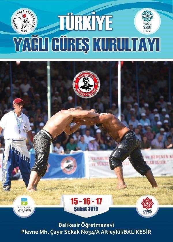 Türkiye Yağlı Güreş Kurultayı, Balıkesir'de Düzenlenecek
