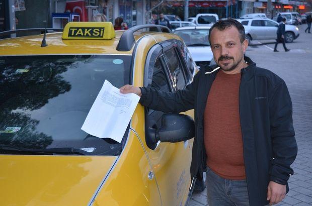 Balıkesirli taksici meslektaşına Twitter'dan hakaret eden kadından şikayetçi Oldu